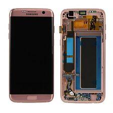 Pantalla LCD kit completo gh97-18533e Rose oro para Samsung Galaxy s7 g935f Edge