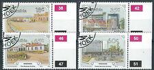 Namibia - Windhuk in Vergangenheit und Gegenwart gestempelt 1990 Mi. 675-678