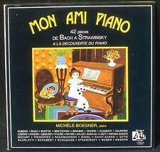 Michèle Boegner Mon ami piano 3 LP M -,  CV NM