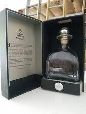 Empty Gran Patron Platinum 750ml Bottle, Book & Box  Collectible With Signature