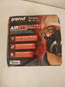 Trend Stealth Air APF10 Reusable Safety Respirator - Missing Box M/Large