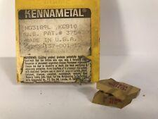 KENNAMETAL NG3189L New Carbide Inserts Grade KC810 4pcs