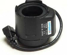 "Computar CS TV Lens 12mm f1.4 1/2"" For CCTV Security Camera (Short Cable)"