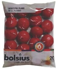 Bolsius Floating Candles Bag 20 Wine Red - 103632053744