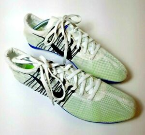 Nike Zoom Victory 2 Flywire Track Spikes  555365-100 SIZE 10