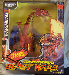 Hasbro Kenner Transformers Beast Wars Transmetal 2 Megatron MISB sealed new