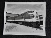 1950's SOUTHERN RAILWAY #4266 E6A DIESEL LOCOMOTIVE TRAIN ENGINE 8 X 10 BW PHOTO