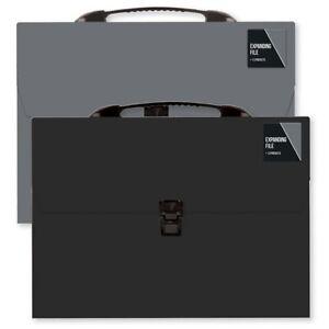 New A4 Expanding File 13 Pocket Document Organiser Paper Storage Wallet Folder