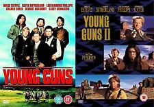 YOUNG GUNS COMPLETE COLLECTION PART 1 2 Emilio Estevez NEW AND SEALED UK R2 DVD