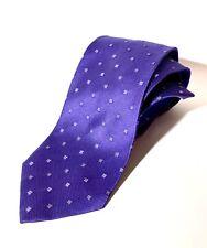 New Cesare Attolini Violet 100% Silk 59/ 3,5 Tie