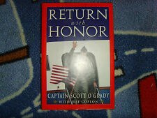 Return with Honor by Jeff Coplon and Scott O'Grady 1995, Hardcover book military
