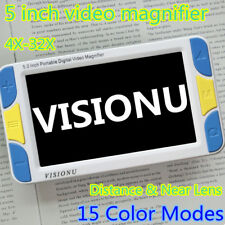 Low Vision 5 inch LCD Pocket Digital Video Magnifier Reading Aid