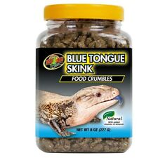 Zoo Med Food Crumbles for Blue Tongue Skink 8 ounce
