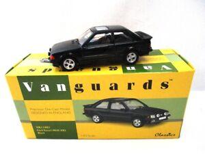 Corgi Vanguards Ford Escort Mk3 XR3i  Black    VA11001   RARE
