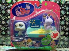 Littlest Pet Shop Walmart Excl. HERMIT CRAB lot #912 SEAL #913 Rare Retired NIB!