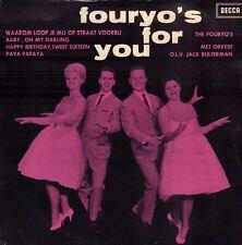 """FOURYO'S, THE – Fouryo's For You (ZELDZAME 1962 VINYL EP 7"""")"""