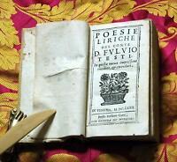 Poesie liriche del conte D.F. Testi, in questa nuova impressione rivedute et eme