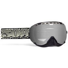509 Aviator Snow Snowmobile Goggles Dollar Bill - Chrome Mirror Yellow Tint Lens