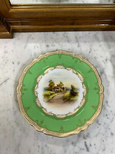 Royal Worcester Cabinet Plate Signed by C. Cresse