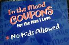 Vintage Adult Anytime Love Coupon Booklet by Hallmark