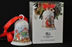 Hutschenreuther Weihnachtsglocke Porzellan 1994 in OVP