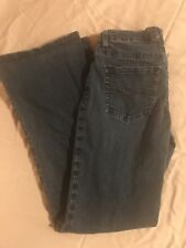 Women's Jag Mid Rise Stretch Boot Leg Jeans Size 10 Med Wash Denim