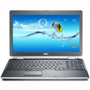 Dell Latitude E6530/ Core i7-3720QM/ 8GB Ram/ 500GB SSD/ 15.6in/ DVDRW Win10 Pro