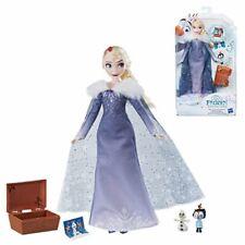 Elsa Puppe mit Schatztruhe | Disney Eiskönigin | Frozen | Hasbro C3383
