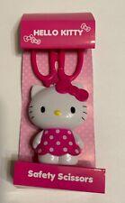 Sanrio Hello Kitty scissors with mascot holder stand school New