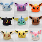 Pokemon Plush Warm Hat Cap Beanie Costume Eevee Sylveon Sylveon Umbreon Gifts