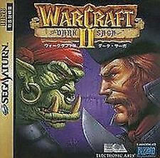 War Craft II 2 Dark Saga SEGA Saturn SS Import Japan