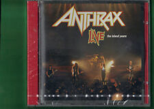 ANTHRAX - LIVE THE ISLAND YEARS  CD NUOVO SIGILLATO