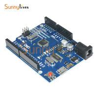 3PCS Version Arduino UNO R3 ATMEGA328P-16AU CH340G Micro USB Board