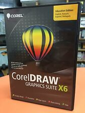 CorelDRAW X6 GRAPHICS SUITE  Education Edition Worldwide Activation