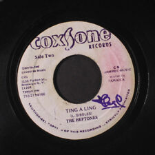 HEPTONES: Ting A Ling / Version 45 (wol, b-side is blank label) Reggae