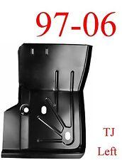97 06 Jeep Wrangler TJ Left Front Floor Pan, 0485-219