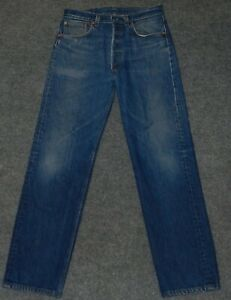 vintage LEVI'S 501 XX CLASSIC JEAN 80s Button Fly Made USA Denim 32 x 32 Jeans