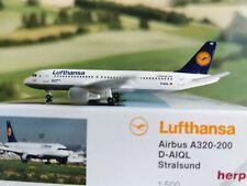 Herpa Wings 1:500 Lufthansa Airbus A320 D-AIQL Stralsund 516501