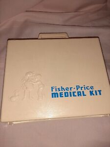 Toy Medical Kit, Fisher-Price, Vintage 1977, Doctor or Nurse, USA, Excellent!
