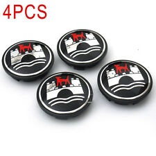 New 4Pcs 65mm Wolfsburg Wheel Center Hub Caps Emblem Suit VW Golf Jetta Rabbit