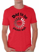 Dad To Be Loading Please Wait T shirt Tops New Dad Gift Father To Be