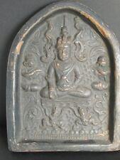 """Raro Grande Terra Cotta """"TSA - tsa"""", Buddha di BIRMANIA"""