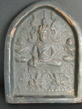 "Rare Grande Terre Cuite ""Tsa-Tsa"", Bouddha de BIRMANIE"