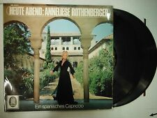 33 RPM Vinyl Anneliese Rothenberger Heute Abend: Odeon SME2220/21 011915KME