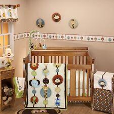NoJo Jungle Tales 8-Piece Crib Bedding Set  - Monkey ,Lion , elephant