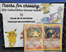 POKELOTTERIA: Charizard set base/Dark Charizard/HOLO/carte pokemon/NO PSA