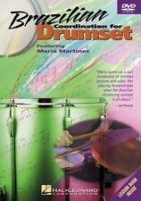 Brazilian Coordination for Drumset Instructional Drum Dvd New 000320444