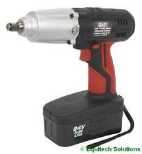 "Sealey Tools CP2400MH 24V 1/2"" Drive Cordless Impact Wrench Gun Nut Runner Ni-MH"