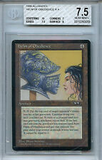 MTG Alliances Helm of Obedience BGS 7.5 NM+ card with 10 centering 0059