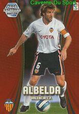 370 ALBELDA ESPANA VALENCIA.FC ESTRELLAS TARJETA CARD MGK LIGA 2008 PANINI